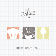 Free Vector of the Day #338: Doodle Restaurant Menu