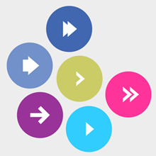 Free Vector of the Day #375: Flat Arrow Buttons