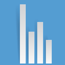 Free Vector of the Day #371: Paper Bar Chart