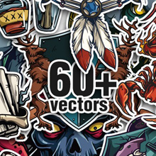 10 New Exceptional Vector Packs & 2 Mega Packs from Designious.com