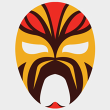 Free Vector of the Day #391: Luchador Mask