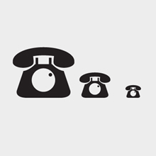 Free Vector of the Day #402: Phone Icon