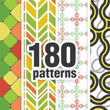 New at Designious: 30 New Splendid Seamless Patterns Vector Packs & 1 Mega Pack
