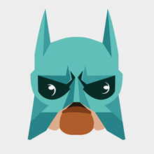 Free Vector of the Day #427: Bat dog Icon