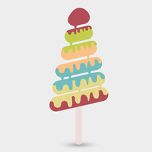 Free Vector of the Day #430: Melting Ice Cream