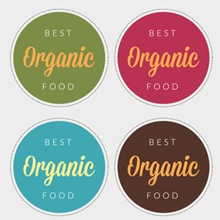 Free Vector of the Day #416: Organic Food Label