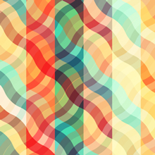 Free Vector of the Day #445: Colorful Plaid Background