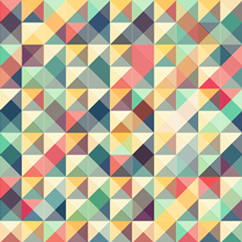 Free Vector of the Day #440: Colorful Retro Background