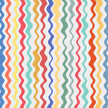 Free Vector of the Day #444: Colorful Wavy Lines