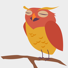 Free Vector of the Day #455: Cute Owl