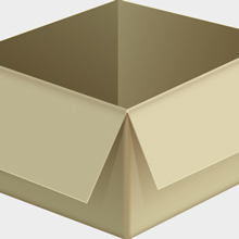 Free Vector of the Day #434: Cardboard Box