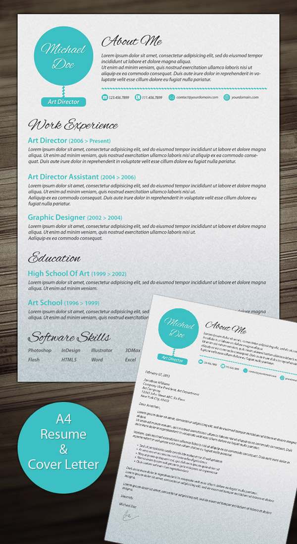 Stand Out Cv Designs : Creative cv templates that will make you stand out