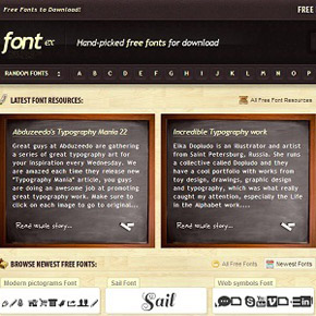 30 Great Websites Where You Can Get Free Fonts