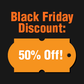 50% Black Friday Discount on Designious.com!