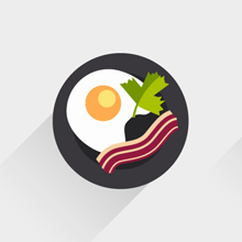 Free Vector of the Day #466: Flat Food Icons
