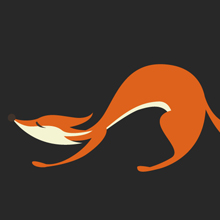 Free Vector of the Day #460: A fox