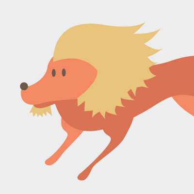 Free Vector of the Day #472: Lion
