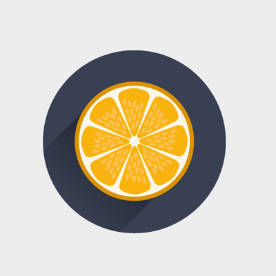 Free Vector of the Day #475: Orange Icon