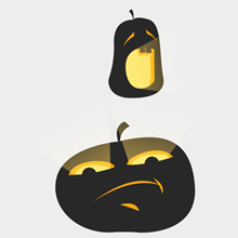 Free Vector of the Day #458: Halloween Pumpkins