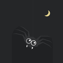 Free Vector of the Day #457: Halloween Spider