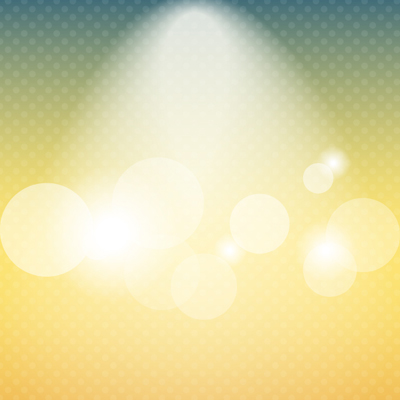 Free Vector of the Day #482: Background with bokeh