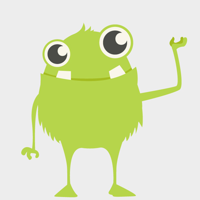 Free Vector of the Day #483: Cute Monster