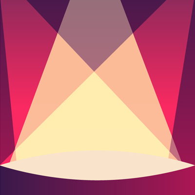 Free Vector of the Day #479: Stage Background