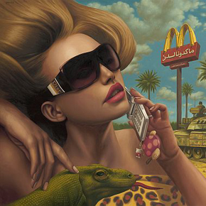 Artist of the Week: Surreal Oil Paintings by Alex Gross
