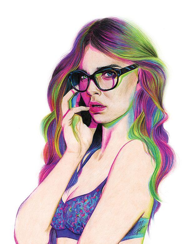 neon cara