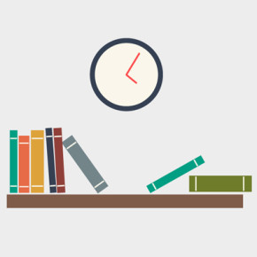Free Vector of the Day #496: Book Shelf