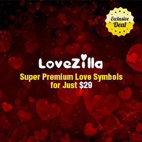 Deal of the Week: Super Premium Love Mega Set with an Extended Royalty License for Only $29
