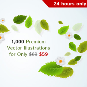 Deal of the Week: 1,000 Premium Vector Illustrations for Only $59