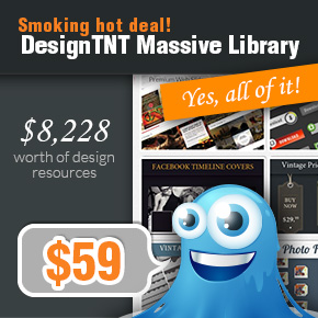 Deal of the Week: DesignTNT Massive Library & 630 Premium Vector Illustrations worth $8,228 – Just $59