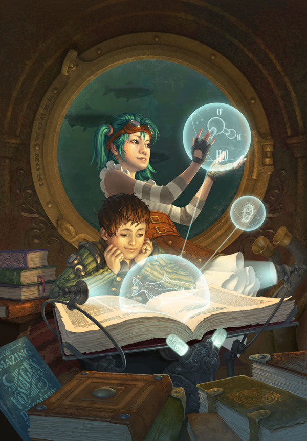 Artist Of The Week Steampunk Illustrations By Antonio Caparo