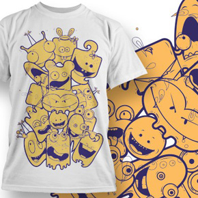 20 Awesome Fresh T-Shirt Designs from Designious.com