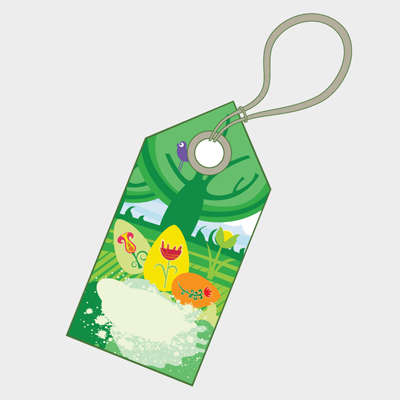 Free Vector of the Day #547: Easter Price Tag