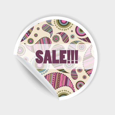 Free Vector of the Day #546: Paisley Sticker