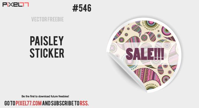pixel77-free-vector-paisley-sticker-0306-650