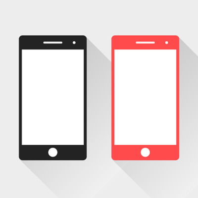 Free Vector of the Day #520: Smartphone Mockups