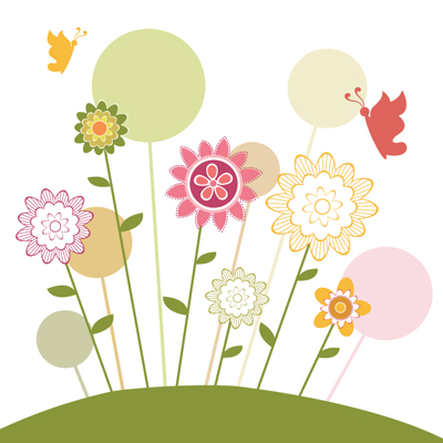 Free Vector of the Day #558: Spring Background