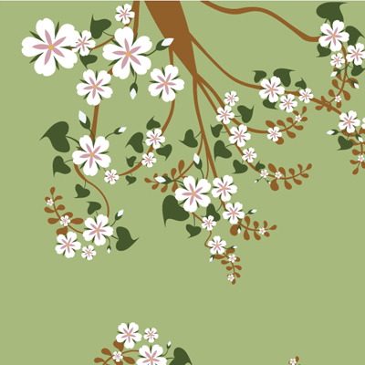 Free Vector of the Day #561: Spring Background