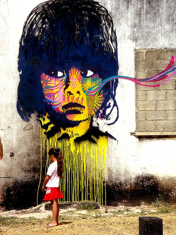 20 Mind Blowing Pieces of Street Art from Around the World