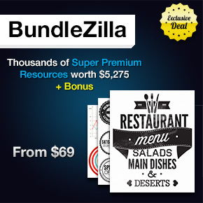 Deal of the Week: BundleZilla with Super Premium Resources worth $5,275 + Bonus – From $69