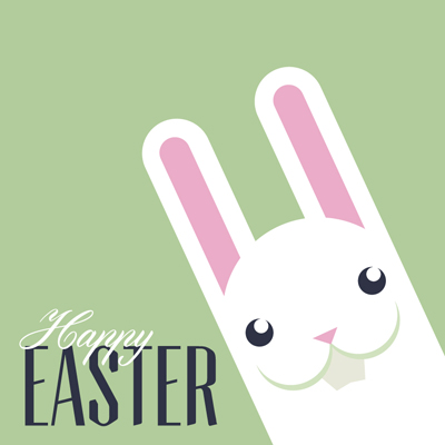 Free Vector of the Day #565: Easter Bunny