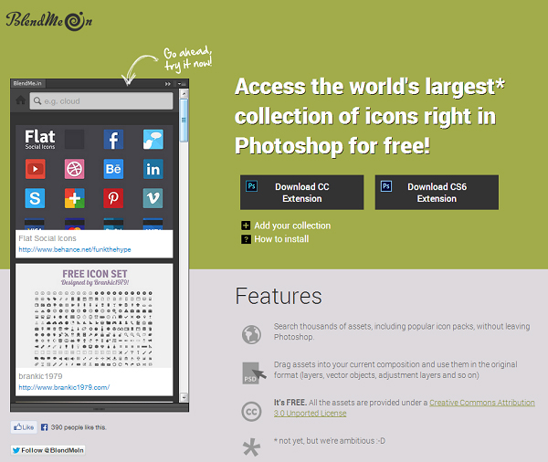 20 Free Photoshop Extensions for Designers