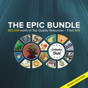Deal of the Week: The Epic Bundle: $20,048 worth of Top-Quality Resources – From $49