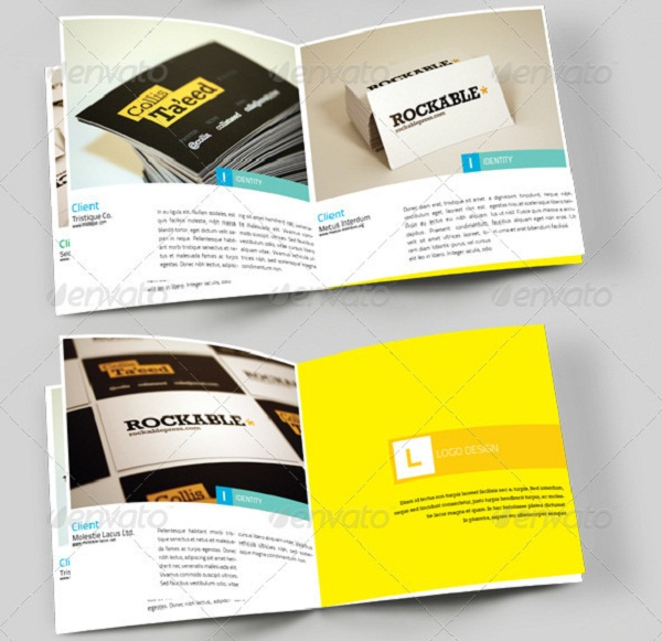 Best Brochure Templates For Designers PIXEL - Portfolio brochure template