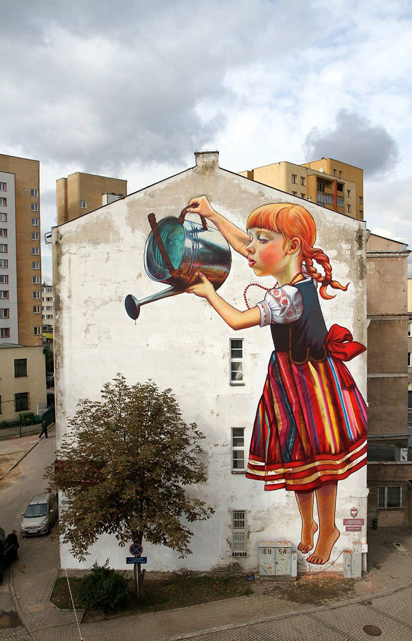 10 Breathtaking Street Art that Interacts with Its Surroundings