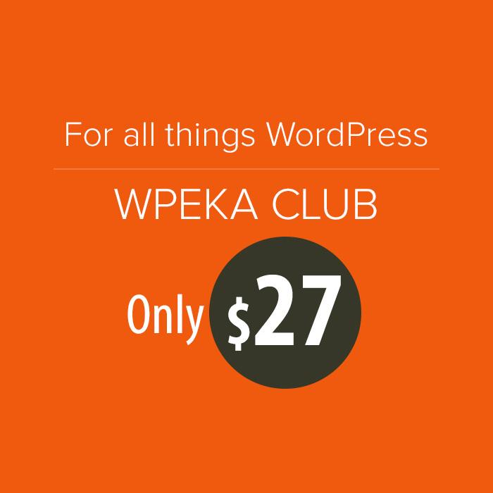 WPEka Club – Home to Premium WordPress Themes and Plugins