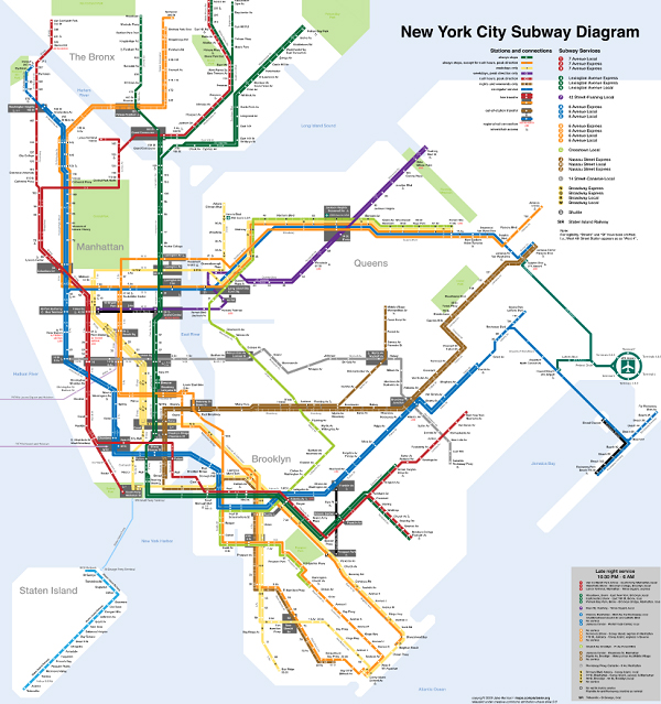 Vineielli Subway Map.8 Timeless Lessons You Can Learn From Designer Massimo Vignelli
